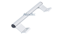 Aluminium Double Side Door Hook Lock Pull Handles