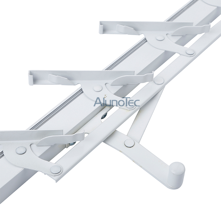 Outward Hanging 4 Blades Louver Parts For Windows