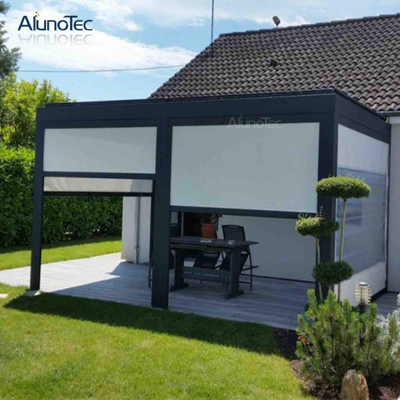 Aluminum Awning Electric Remote Control Pergola For Garden ...