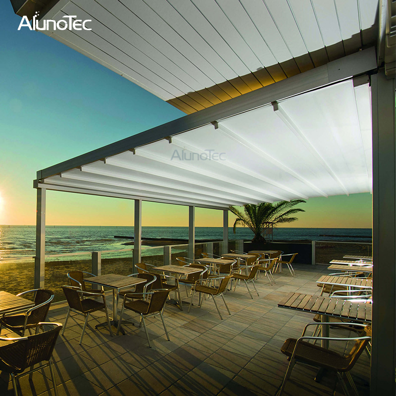 4x4 Electric Awning Retractable Roof Canvas With Rain